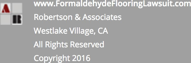 Formaldehyde Flooring Class Action Lawsuit Footer
